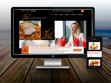 Menu Ordering Website