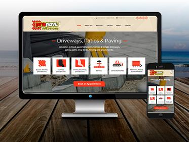 Paving Service Website
